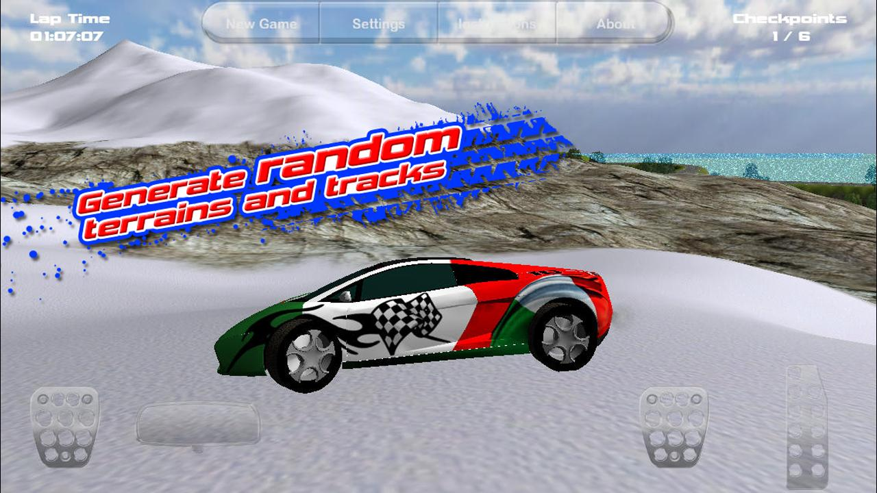 Island Racer Lite - screenshot