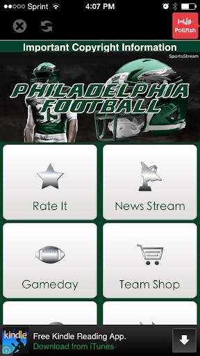 Philadelphia Football STREAM