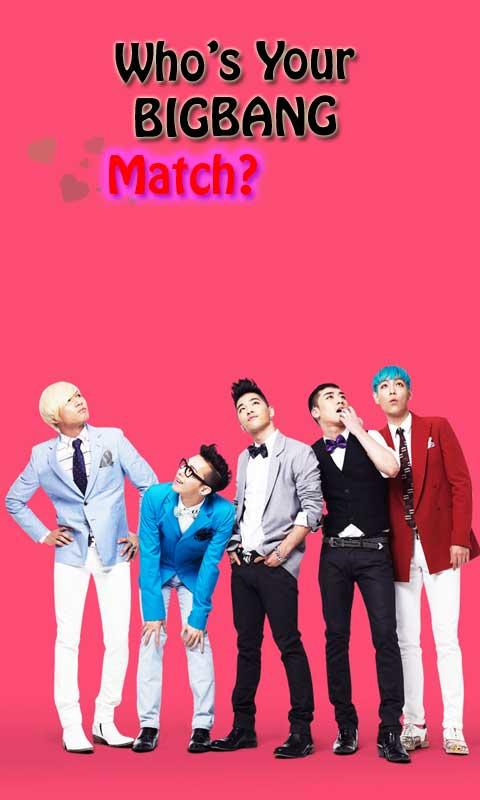 BIGBANG Love Match - screenshot