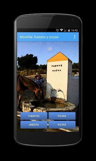 Fuentes y pozas de Montilla