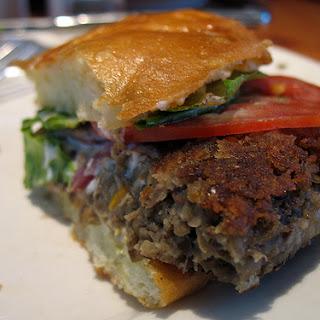 Lentil Burger.