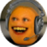 Annoying Orange Mic Check icon