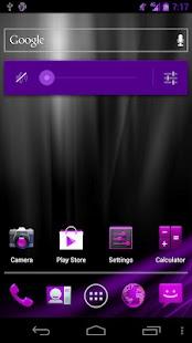 Pink/Purp Blast CM9/AOKP Theme - screenshot thumbnail