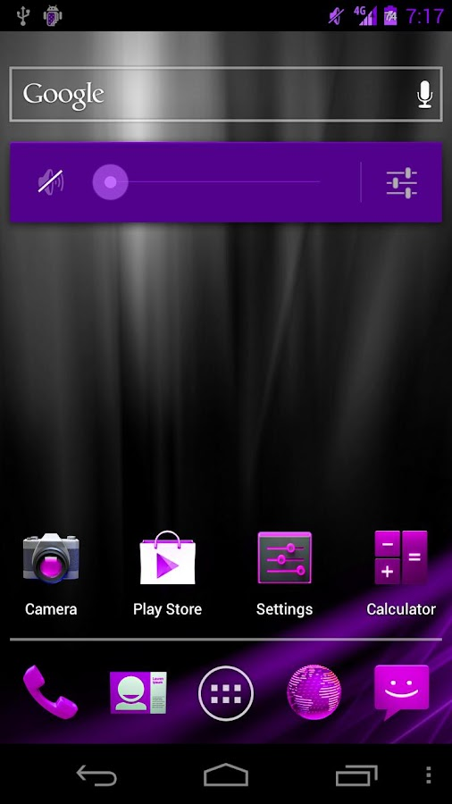 Pink/Purp Blast CM9/AOKP Theme - screenshot