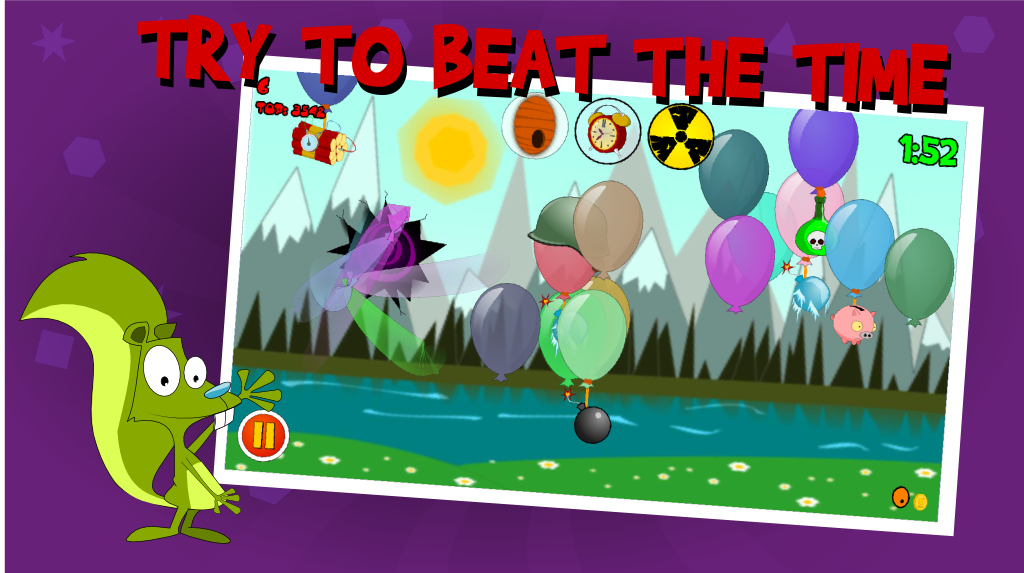 The Balloons: Pop master - screenshot