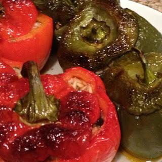 Stuffed Peppers / Yεμιστές πιπεριές