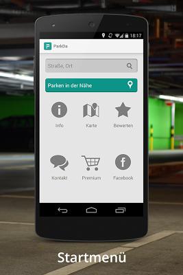 Parkda - Parken in Deutschland - screenshot