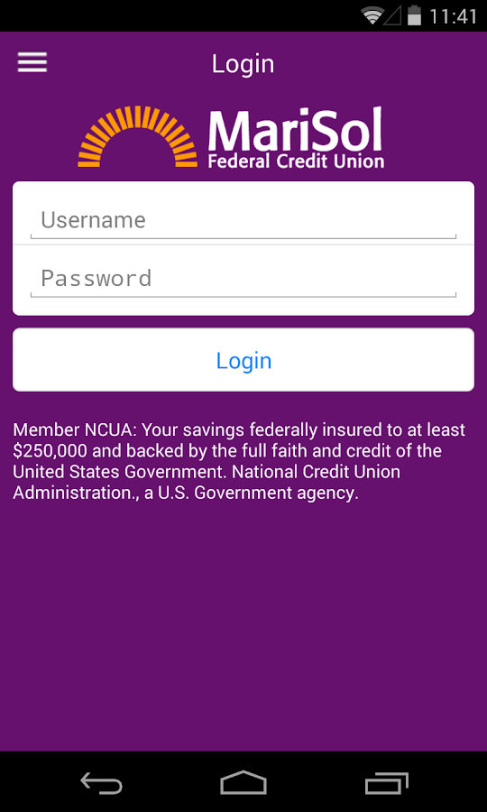 MariSol FCU - screenshot