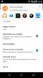 NextSong - Music Notifications Screenshot 7