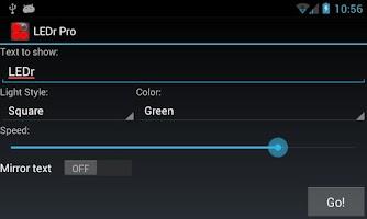 Screenshot of LEDr