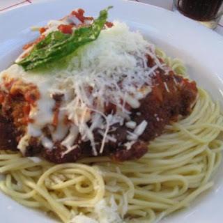 Chicken Parmigiana Tony's Town Square Restaurant