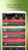 Screenshot of CrimeBot