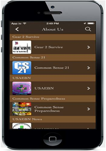 USAEBN Mobile- screenshot