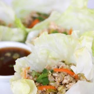 Asian Lettuce Wraps.