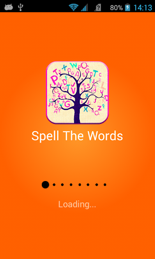 Spell The Words Game