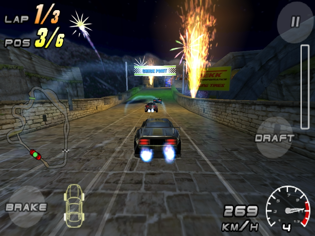 Raging Thunder 2- screenshot