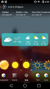 COLOR WEATHER ICONS FOR HDW screenshot 6