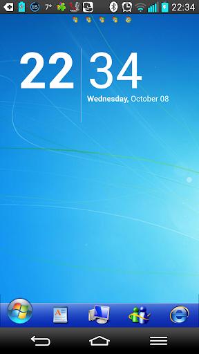 Windows 7 Go Launcher ex Theme