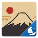 Ukiyoe Boat Browser Theme icon