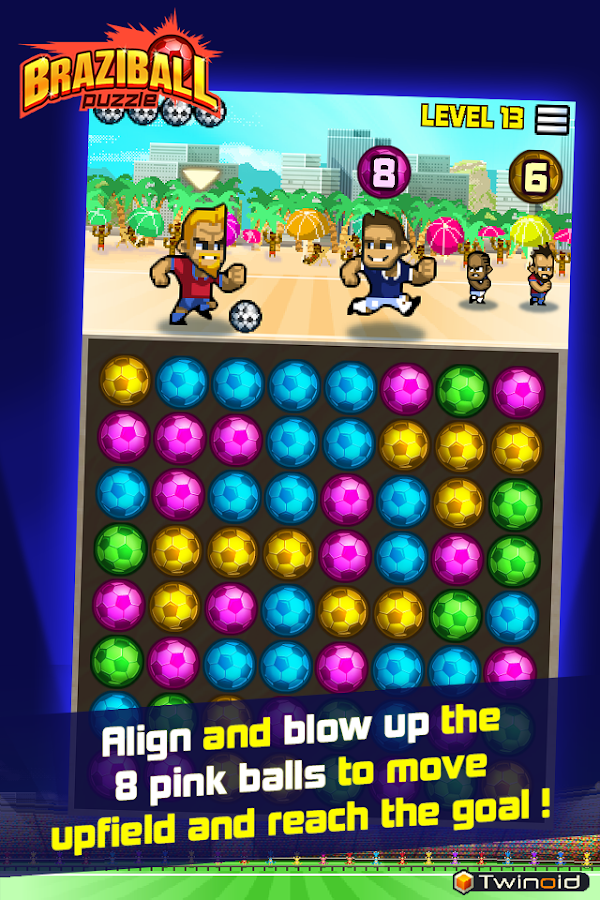 Braziball Puzzle- screenshot
