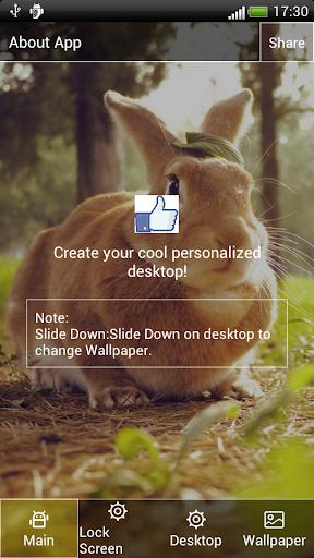 兔子動態壁紙屏幕鎖