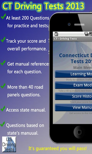 Connecticut Driving Test CT