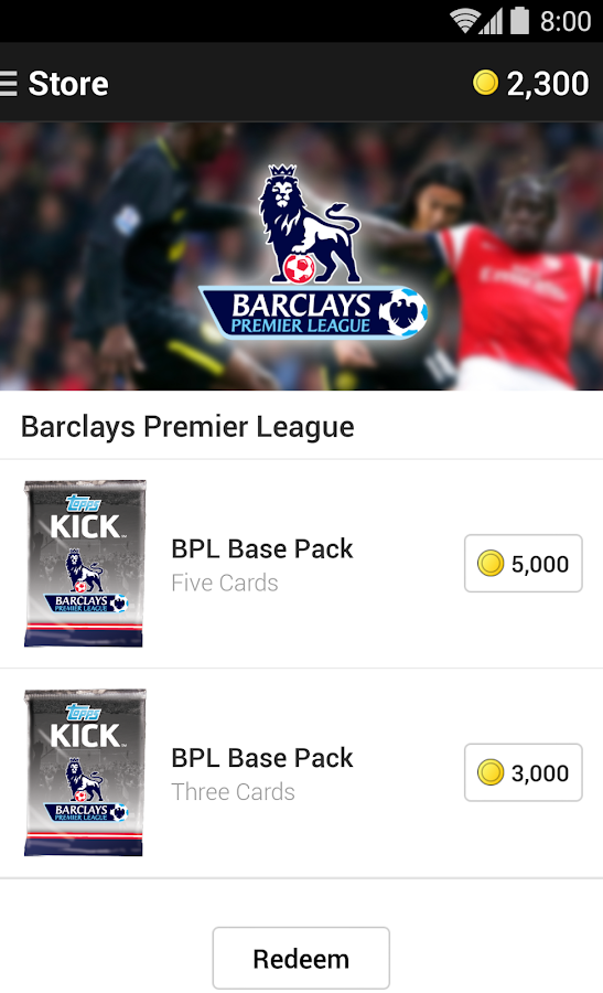Topps KICK 15 - screenshot