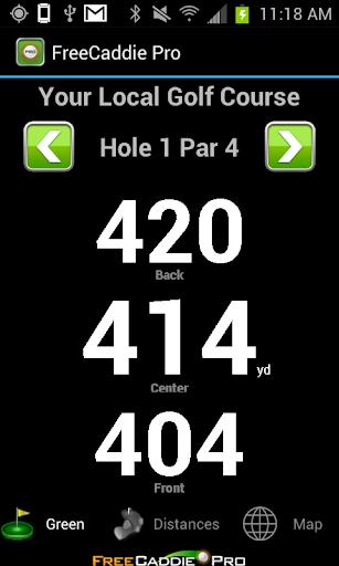 Golf GPS APP Rangefinder