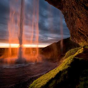 Seljalandsfoss by Brynjar Ágústsson - Landscapes Waterscapes ( suðurland, seljalandsfoss, europe, landslag, nordic-countries, travel, foss, landscape, south iceland, highland, wilderness, iceland, environment, nature, outdoor, ísland, scenery, landscapes )