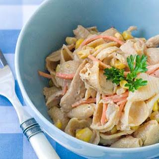 BBQ Chicken & Pasta Salad