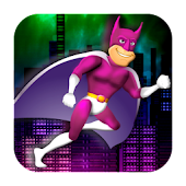 Fast Running Super Hero - Free