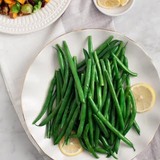 Simple Lemon Green Beans