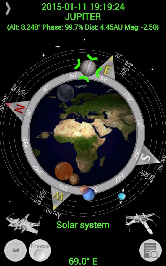 Planet Finder - screenshot