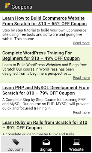 eLearning Coupons