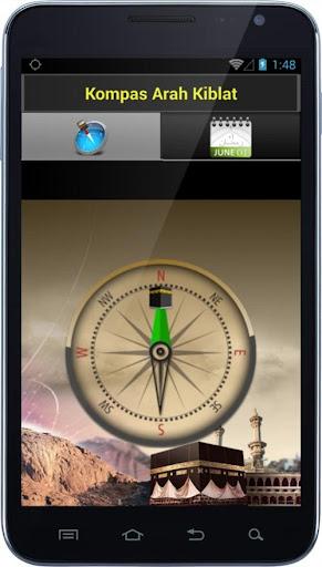 Kompas Arah Kiblat