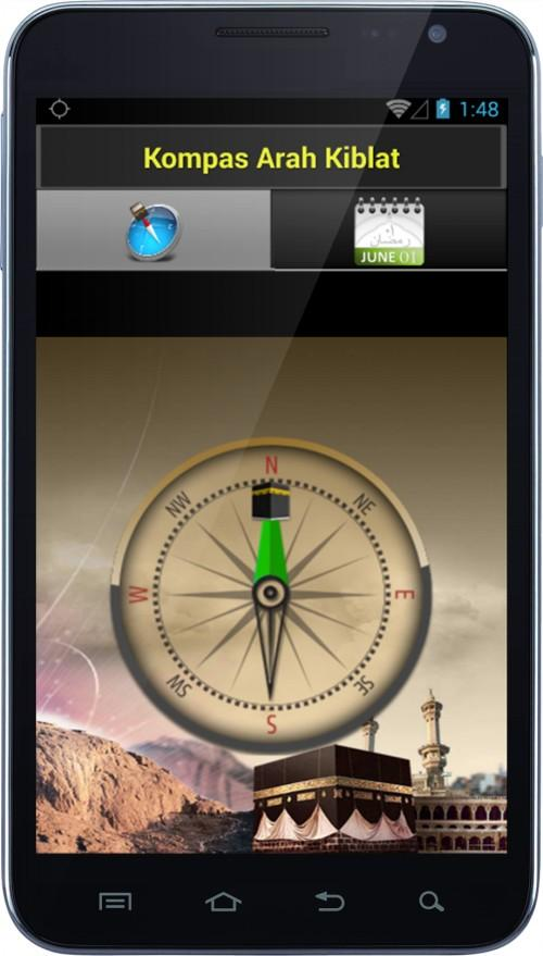 Free download jadwal sholat & kompas kiblat apk for android.