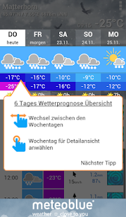 meteoblue - screenshot thumbnail