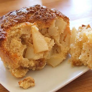 Pear and Ginger Muffins.
