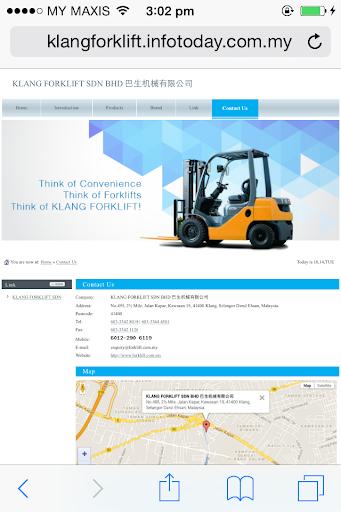 Klang Forklift Sdn Bhd