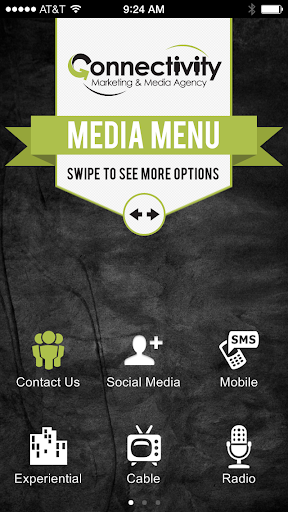 Connectivity Media Menu