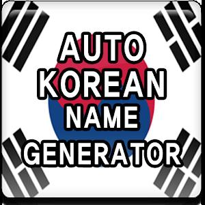 Auto Korean Name Generator | FREE Android app market