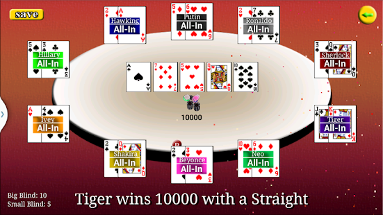 Virtual Poker - screenshot thumbnail