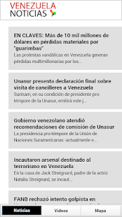 Noticias Venezuela- screenshot thumbnail