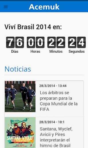 Investi Fixture Brasil 2014