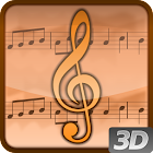 Living Music 3D Live Wallpaper icon