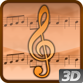Living Music 3D Live Wallpaper