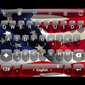 Theme TouchPal Shield Flag