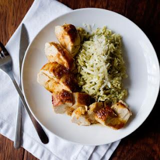 Honey Garlic Balsamic Chicken.
