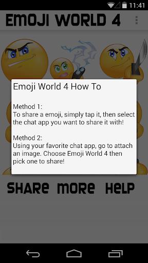 玩免費社交APP|下載絵文字ワールド4™A新品種 app不用錢|硬是要APP