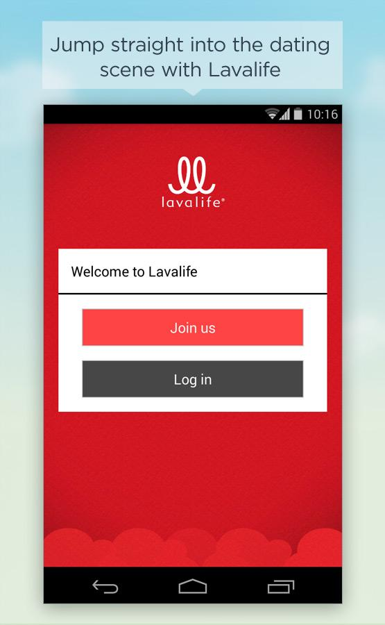 Lavalife- screenshot